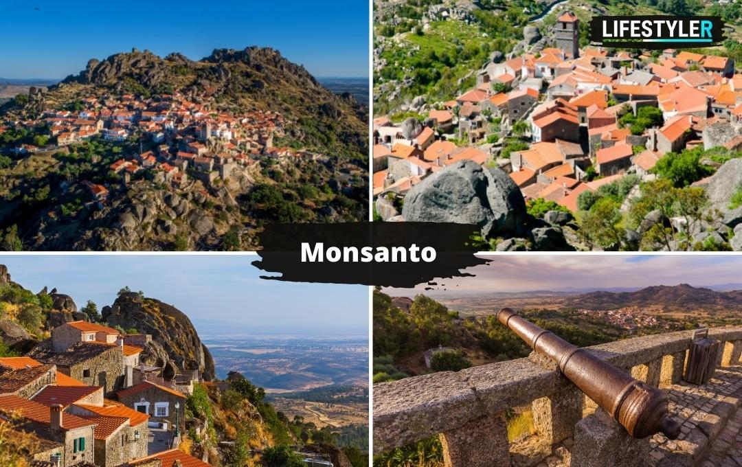 najpiękniejsze miejsca w portugalii Monsanto