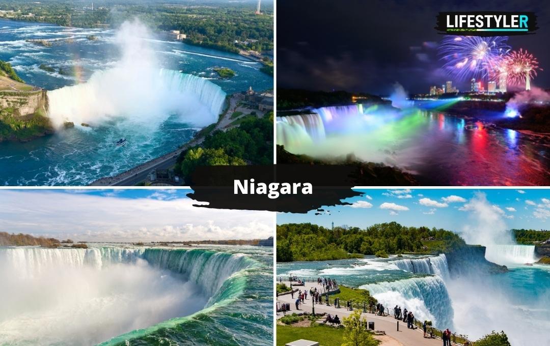 ciekawe miejsca w USA Wodospady Niagara