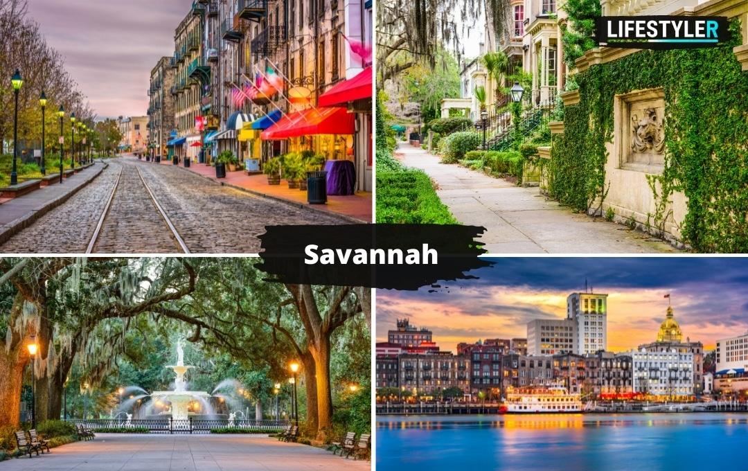 ciekawe miesjca w USA Savannah atrakcje