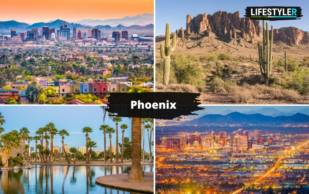 najlepsze miasta w Ameryce Stanach Phoenix