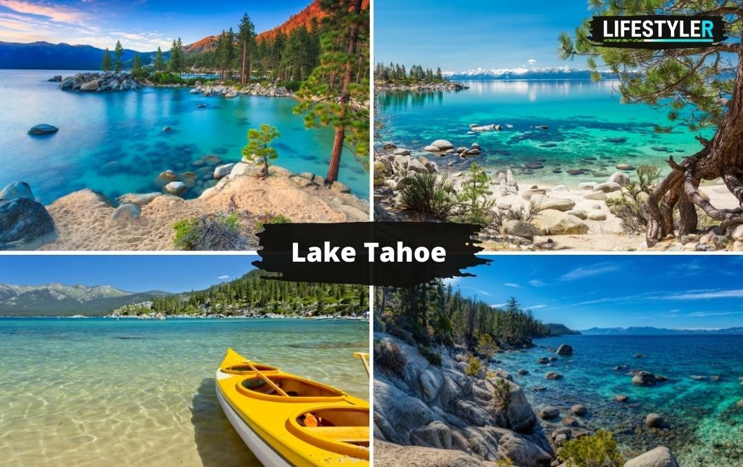 najlepsze miejsca w USA Jezioro Lake Tahoe