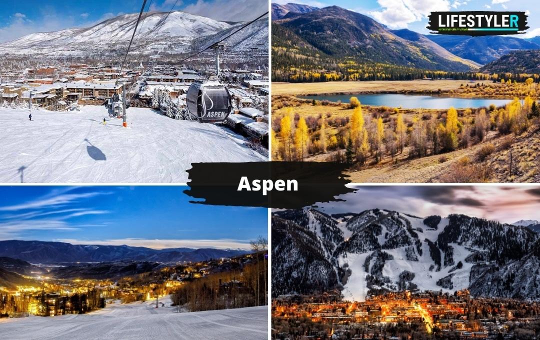 najlepsze miejsca w stanach aspen narty