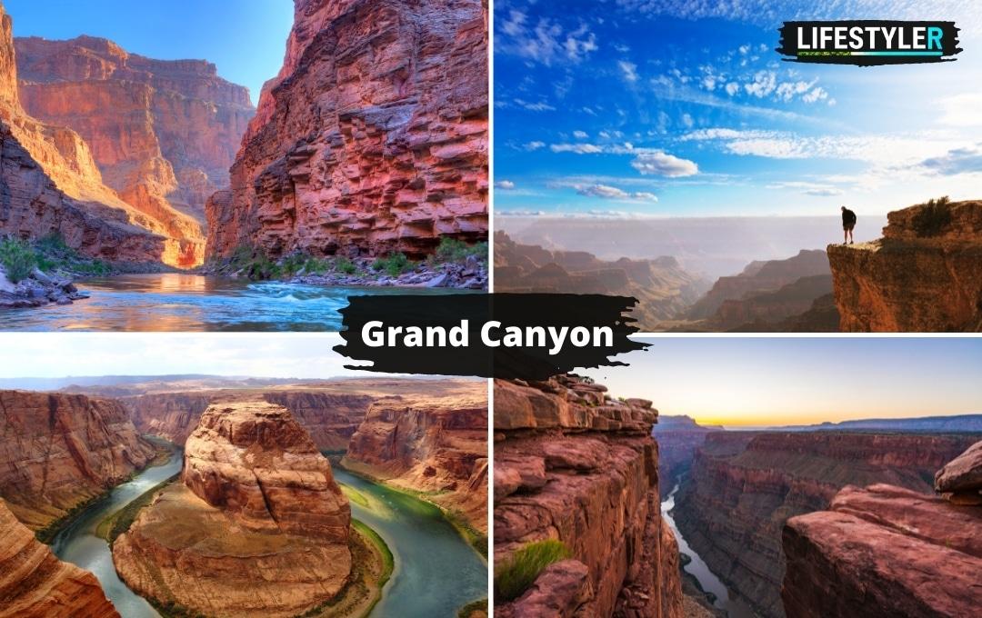 najlepsze miejsca w stanach do zobaczenia grand canyon