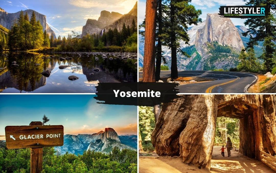 najlepsze parki w Ameryce Yosemite