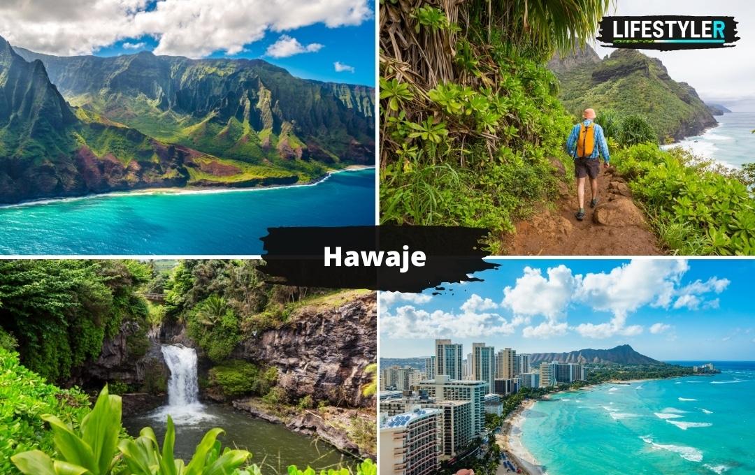 najpiękniejsze wyspy świata Hawaje