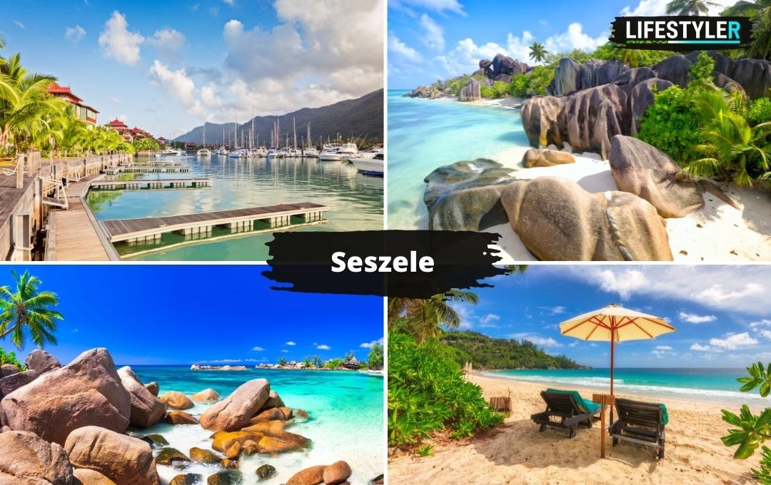 najpiękniejsze wyspy na świecie Seszele