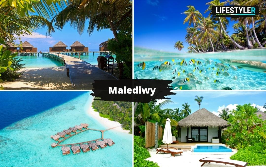 najpiękniejsze wyspy świata Malediwy