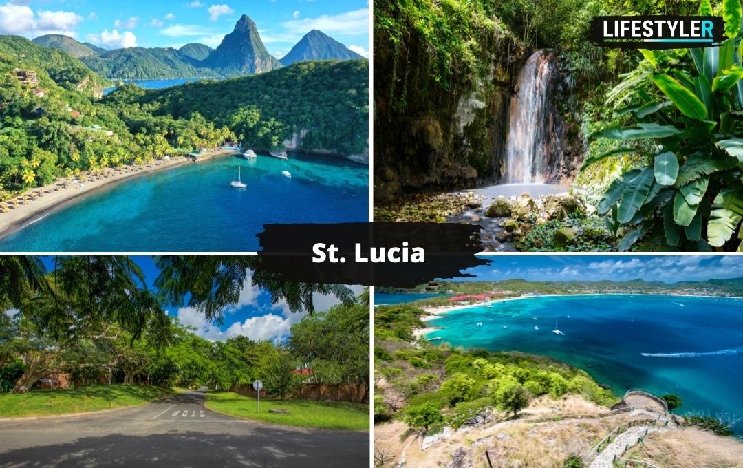 najpiękniejsze wyspy świata Santa Lucia