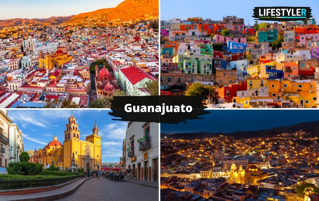 atrakcje i miasta w Meksyku Guanajuato