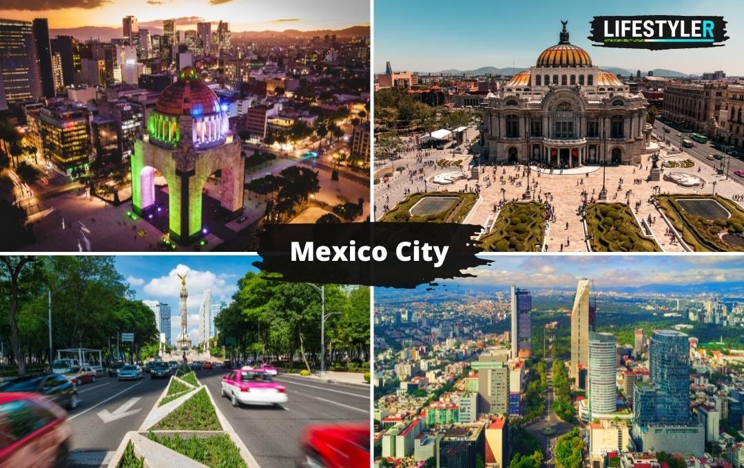 atrakcje i miasta w Meksyku Mexico City