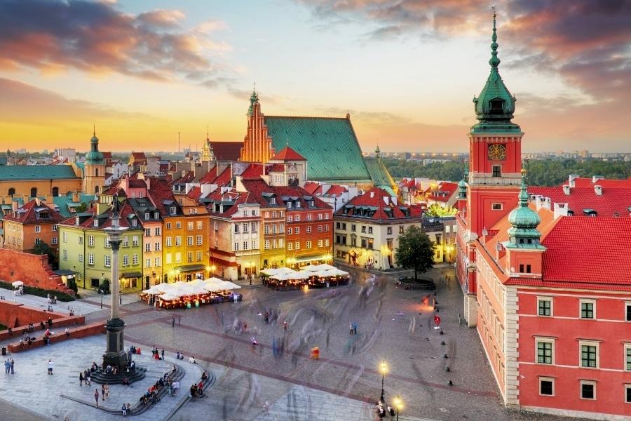najpiękniejsze miejsca i miasta w Polsce