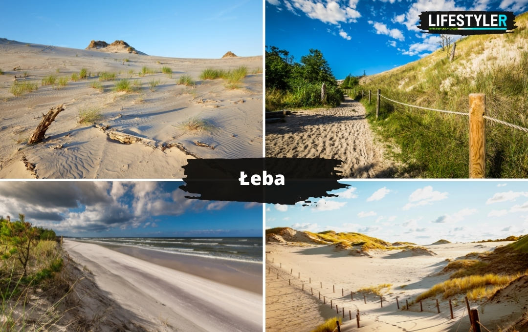 najpiękniejsze miejsca w Polsce Łeba