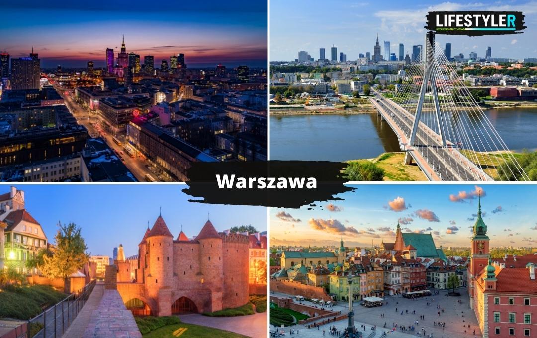 najpiękniejsze miejsca w Polsce Warszawa