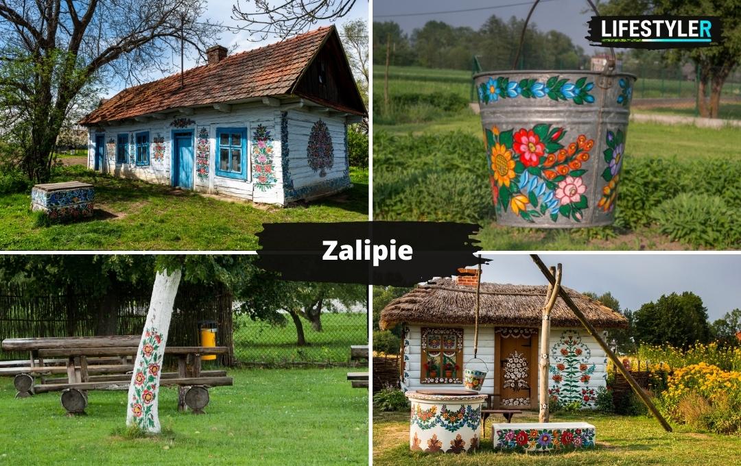 najpiękniejsze miejsca w Polsce Zalipie