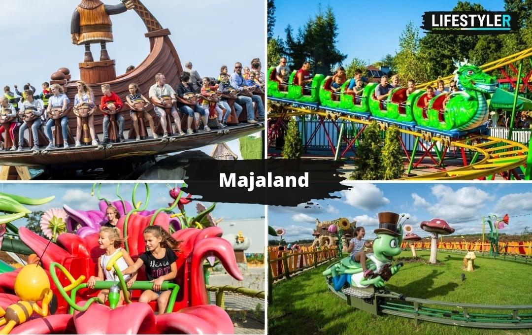 atrakcje dla dzieci w Polsce majaland kownaty